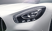 Mercedes Roadster AMG feature - LED high performance headlamps