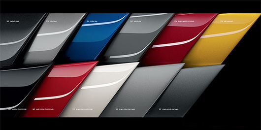 Colour Options for Mercedes Roadster AMG