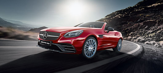 The Mercedes-AMG SLC 43