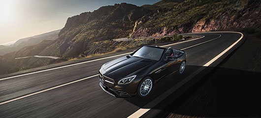 The Mercedes-AMG SLC 43.