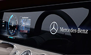 Mercedes CLS feature - Widescreen Cockpit
