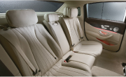 Mercedes E class feature - Rear reclining seats