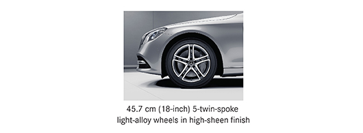 Alloy options for Mercedes S class